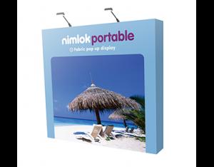 3x3 fabric pop-up stand - by Nimlok