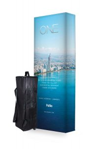 3x1 fabric pop-up stand - by XL Displays