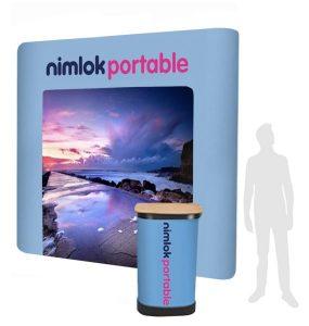 4x3 straight pop-up stand - by Nimlok