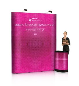 4x3 straight pop-up stand - by XL Displays