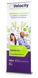 120cm to 130cm wide pop up banner - by XL Displays