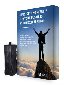 3x2 fabric pop up stand - by XL Displays