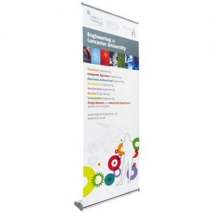80cm to 90cm wide pop up banner - by Display Wizard