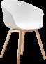 White Tub Chair – by D-Zine